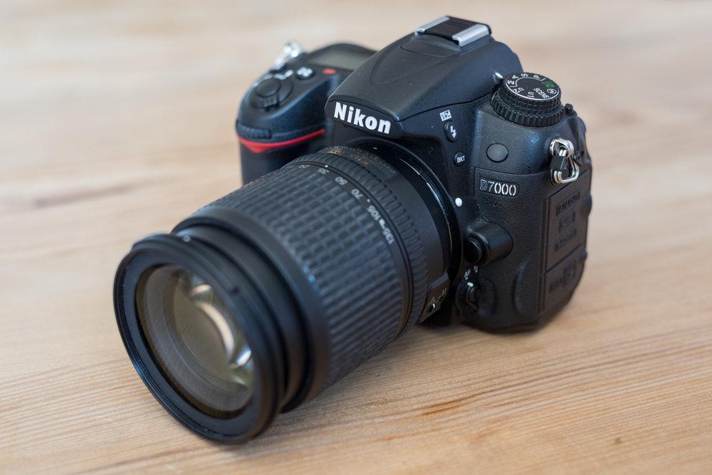 Leihkamera Nikon D7000