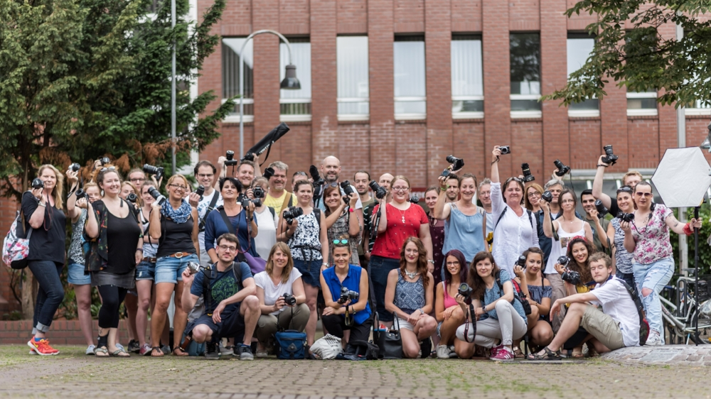 Gruppenbild Photowalk in Köln Ehrenfeld 2017