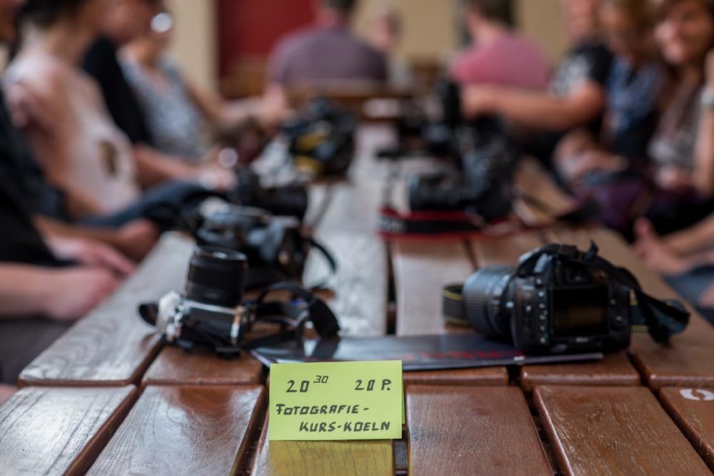 Kameras auf Photowalk im Herbrands