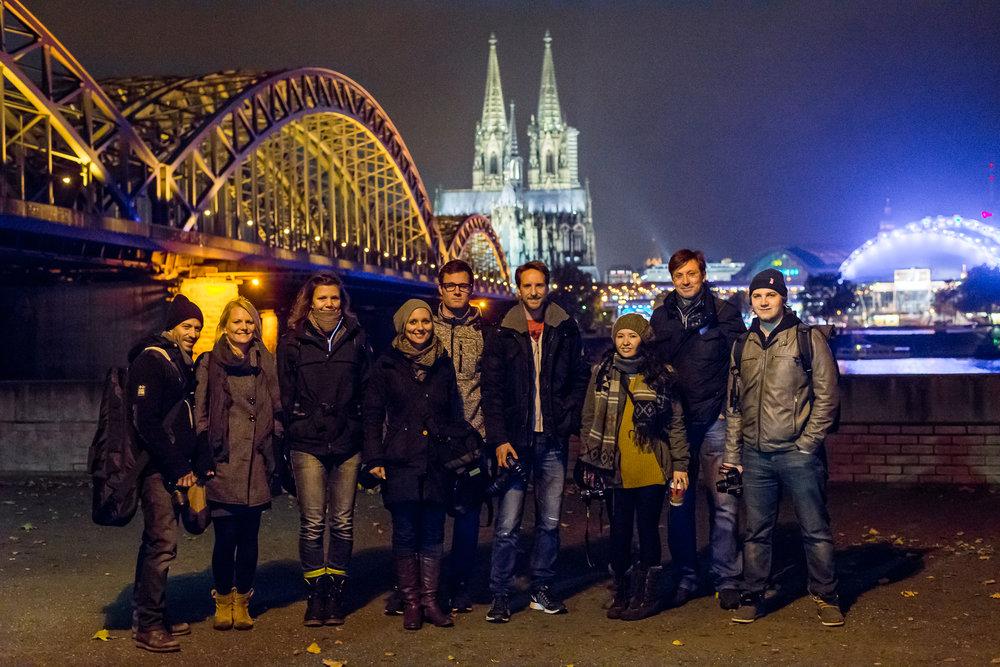 Photowalk / Fotowalk in Köln mit Dom im Hintergrund