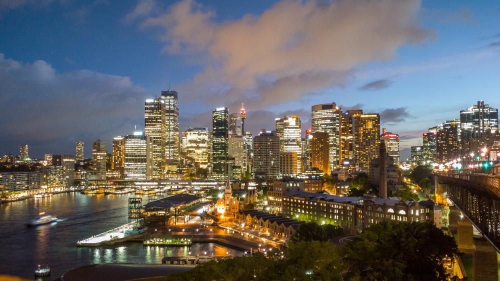 Beispiel Bild, aufgenommen mit einem LG G5 Smartphone in Sydney, Australien