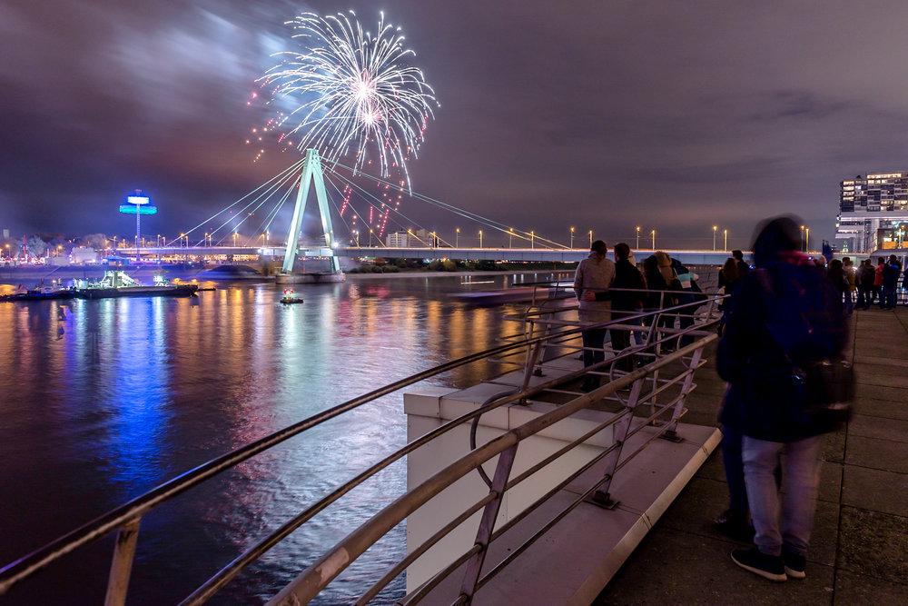Feuerwerk Kirmes Deutz Köln