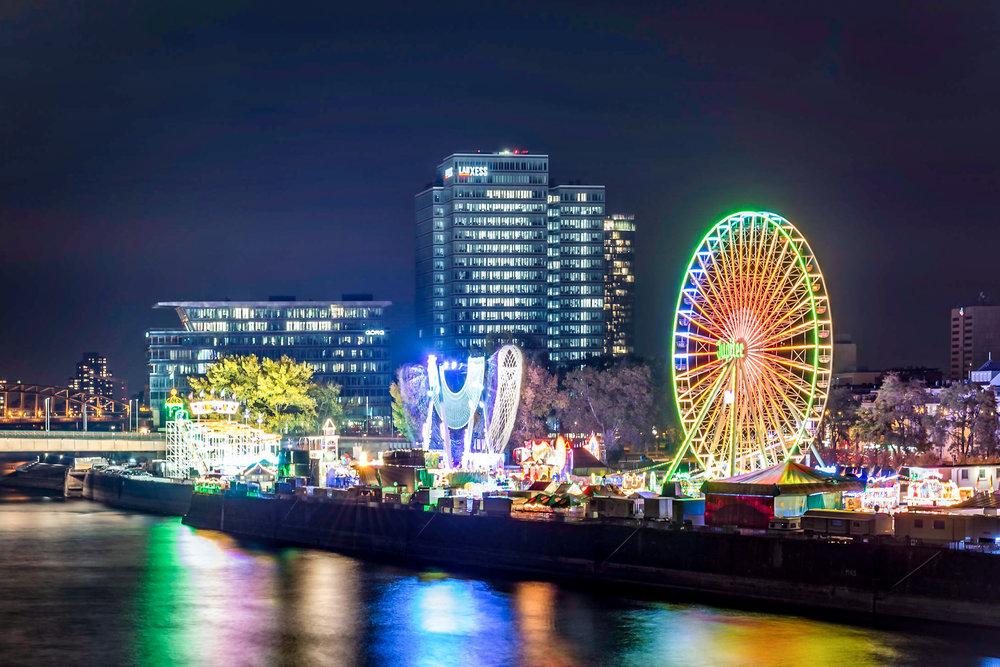 Kirmes Köln Deutz Volksfest Köln Nacht