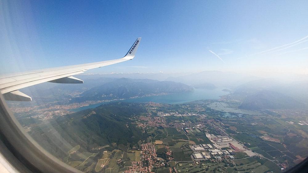 Ryanair See Flugzeug Handyfotografie Kurs in Köln Beispielbild