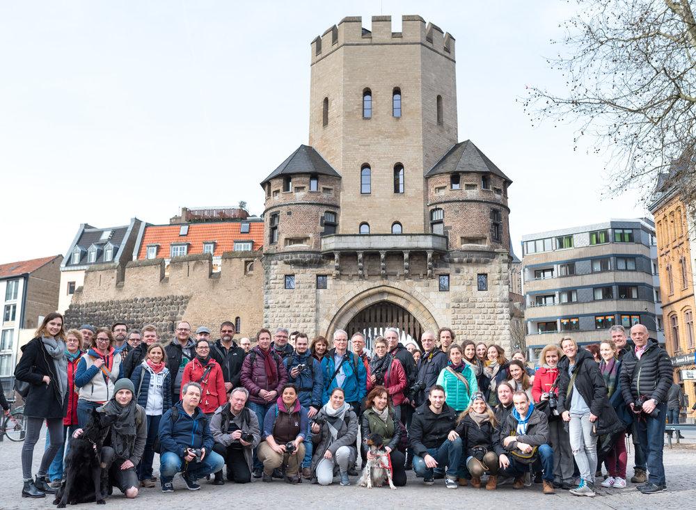 13 Photowalk Gruppenbild Chlodwiplatz