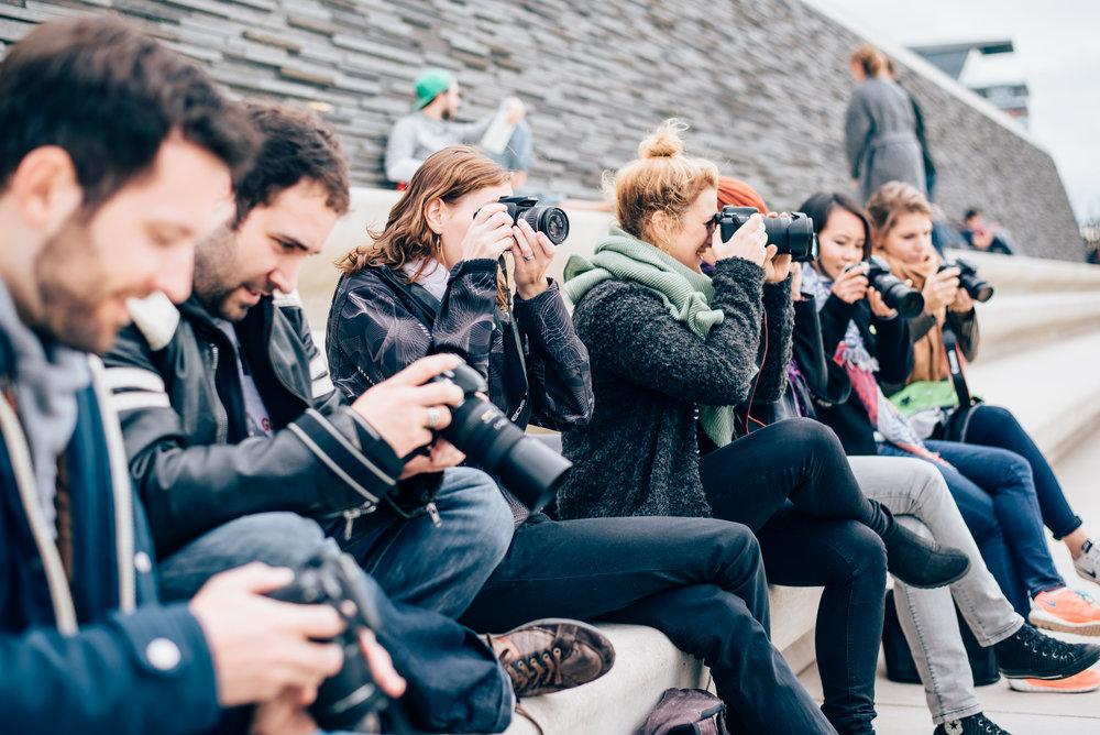 Fotokurs im Mediapark Teilnehmer des Grundkurs