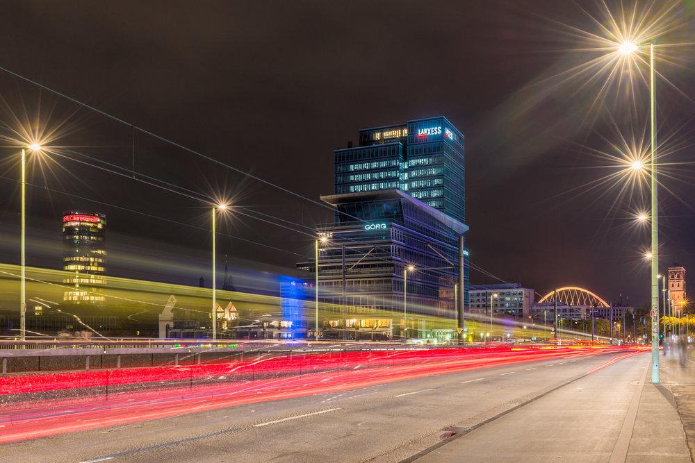 Nachtfotografie Kurs in Köln Deutz mit Fotografie-Kurs.Koeln zu