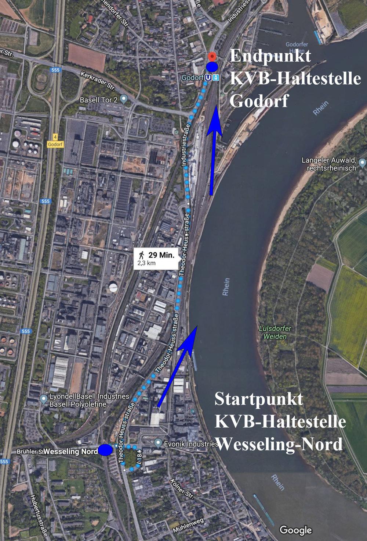 Strecke Photowalk Industriefotografie Köln