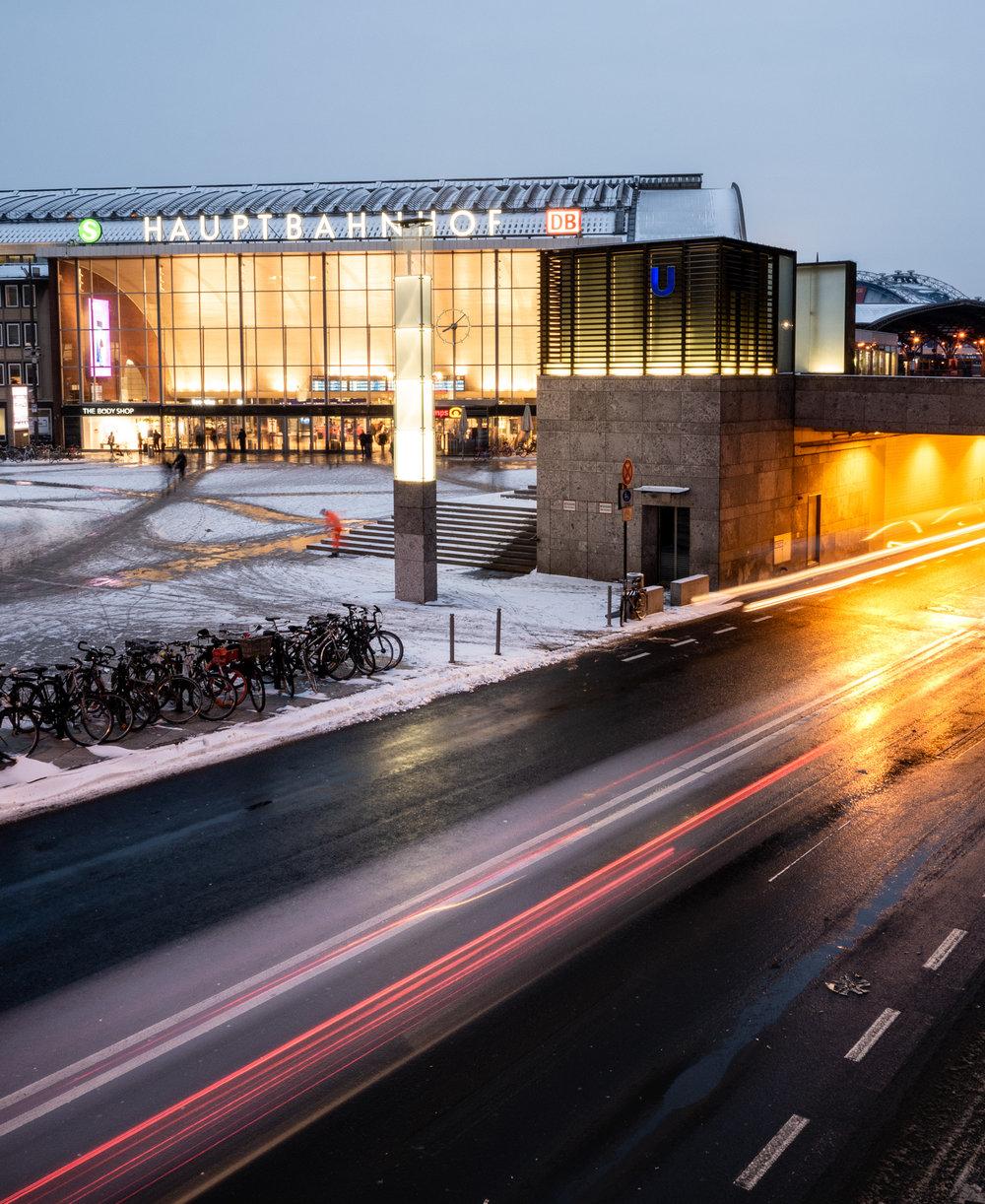 Schnee Köln 2019