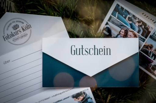 Gutschein für einen Fotokurs in Köln