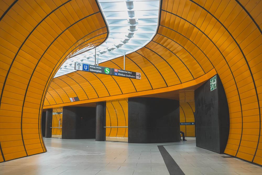 U-bahnhof Station  Marienplatz