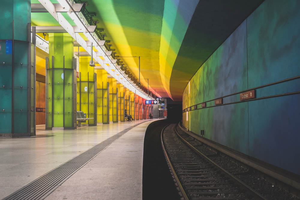 U-bahnhof Station  Candidplatz