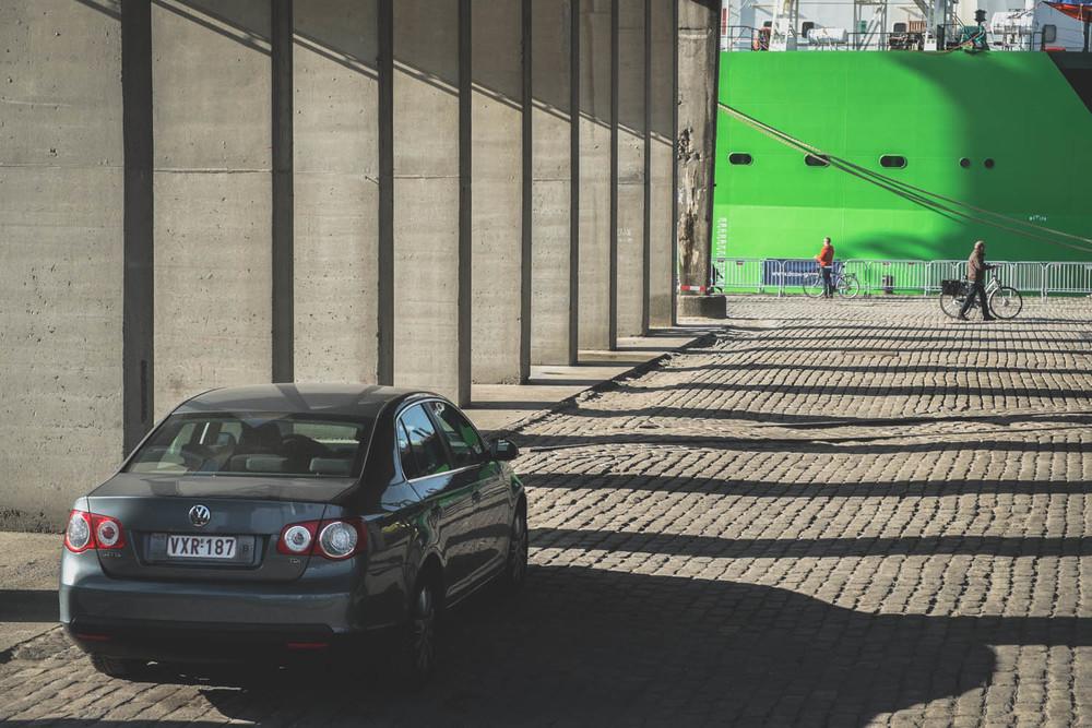 VW Passat diesel - almost as environmental friendly as biking