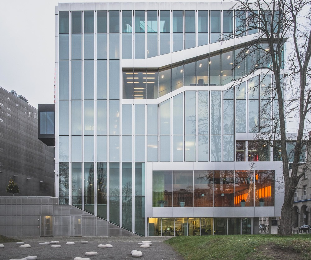 OMA's classic, Dutch Embassy
