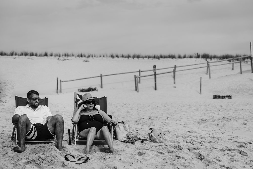 Grandmother with son-in-law | NJ Beach Photographer