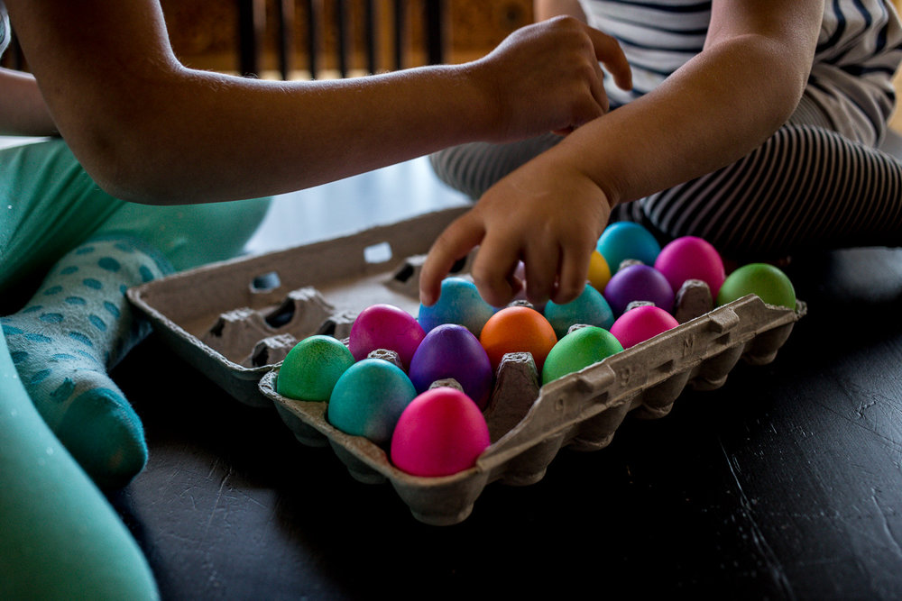 Counting the Easter eggs