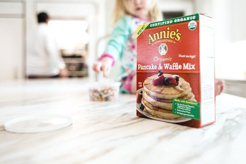 Annie's pancake & waffle mix | Ridgewood NJ Photographer