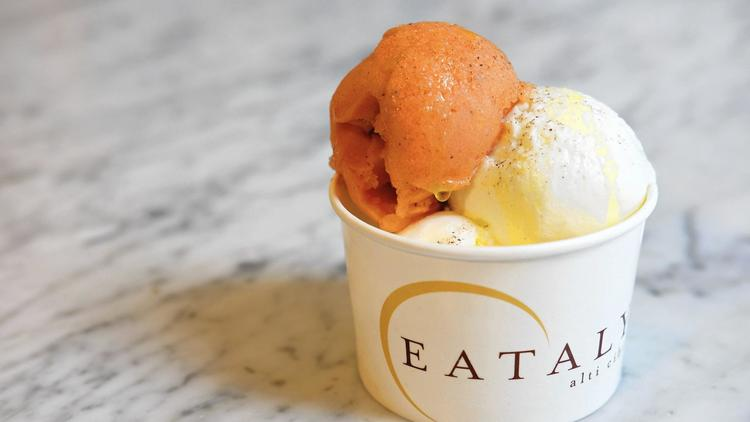 Food & Wine - Would you eat a gelato sundae that tastes like caprese salad? 6/5/17