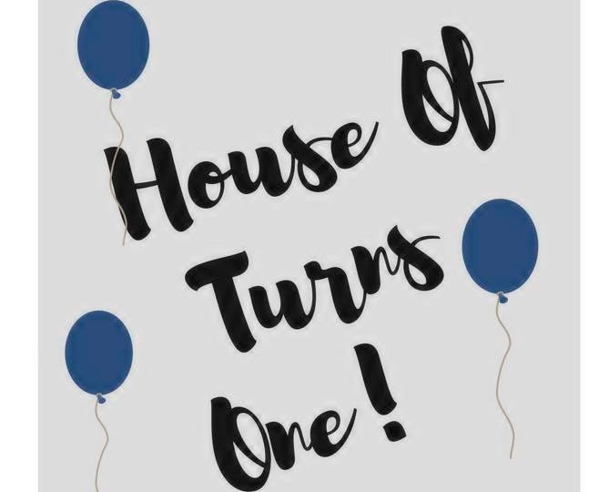 House Of Turned One! - House Of, one of our on-campus student run business, celebrated their one year anniversary in April.  House Of is a collaboration with the Nashville Fashion Alliance and sells over 30 local designers including several Belmont alumni!