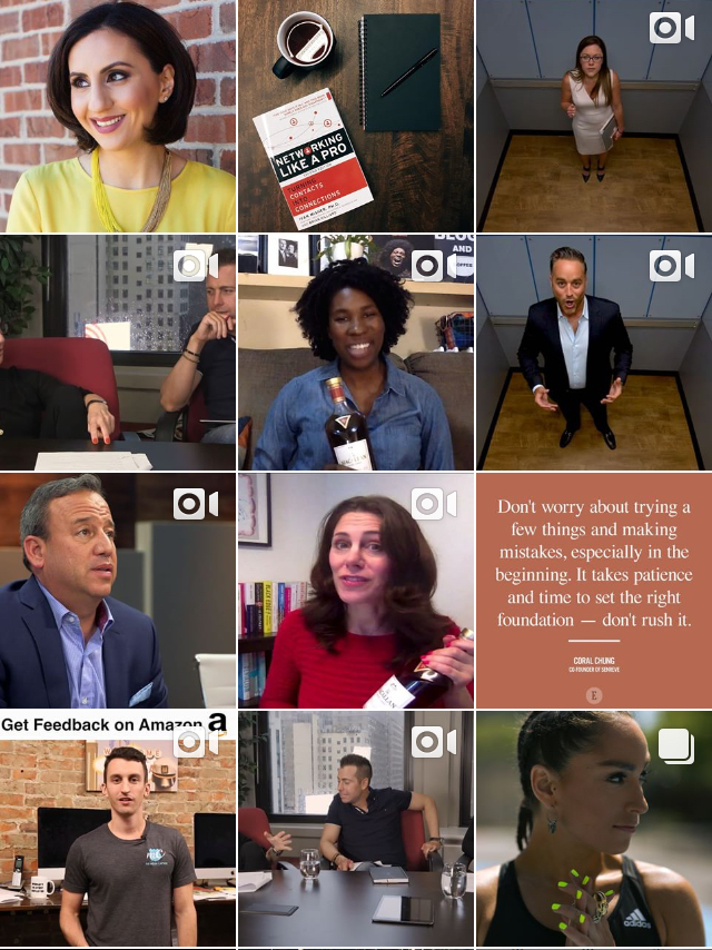 @entrepreneur - From Elevator Pitches to Networking, this Instagram account is a go-to for all the tips you need! Here from Entrepreneurs themselves, or even order their book! This account would definitely be a good follow.