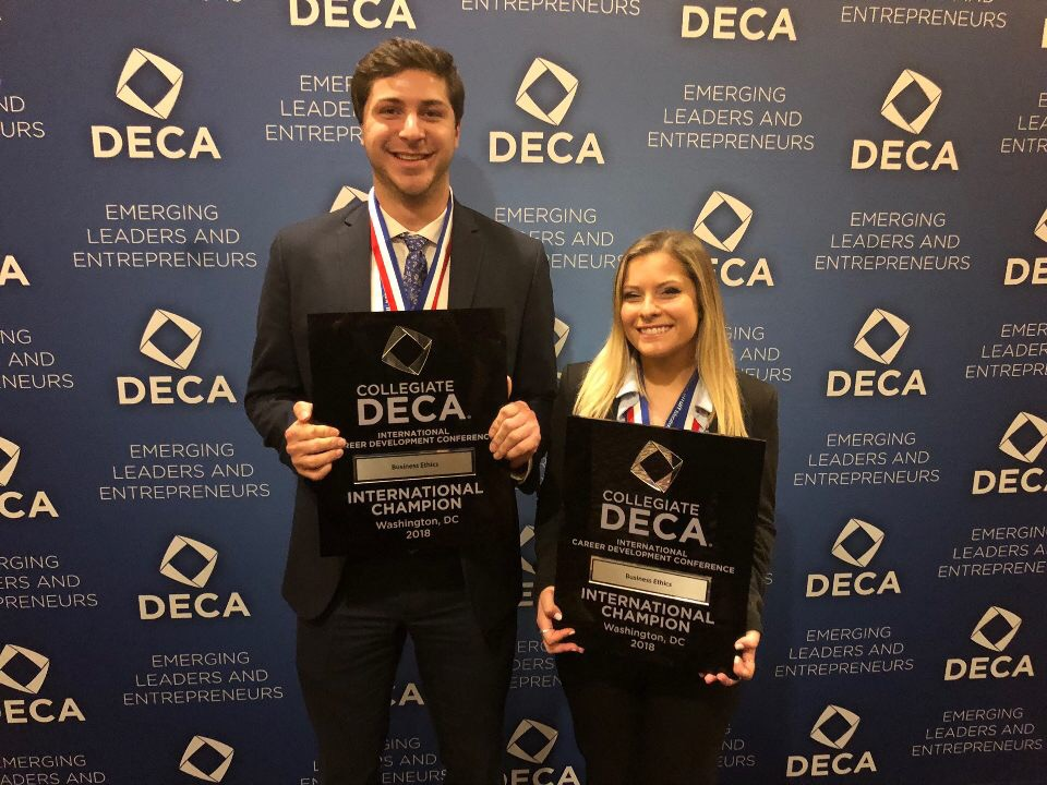 Eric Rall and Julia Keefe: First Place in Business Ethics