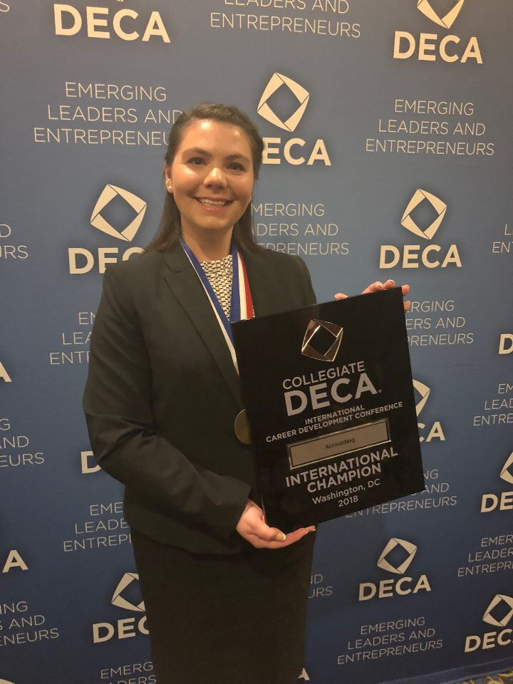 Ally Misch: First Place in Accounting