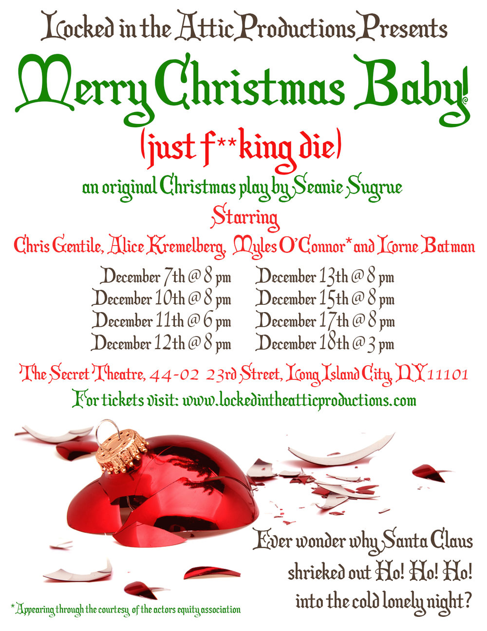 merry christmas baby just fking die locked in the attic productions - Merry Christmas Baby