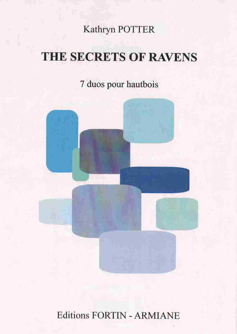 """ The Secrets of Ravens "" 7 intermediate oboe duets"