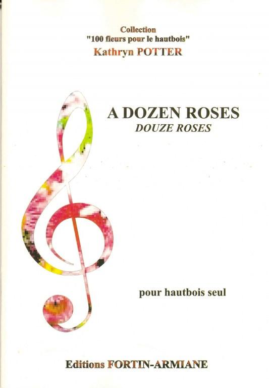 """ A Dozen Roses "" 12 oboe solos - intermediate to professional"