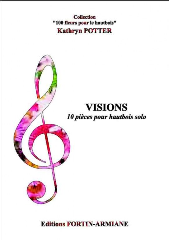 """ Visions "" 10 advanced to virtuosic oboe solos portraying flowers"