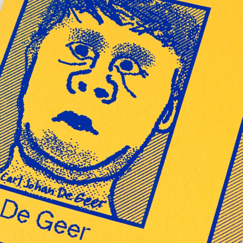 DE GEER EXHIBIT CATALOG