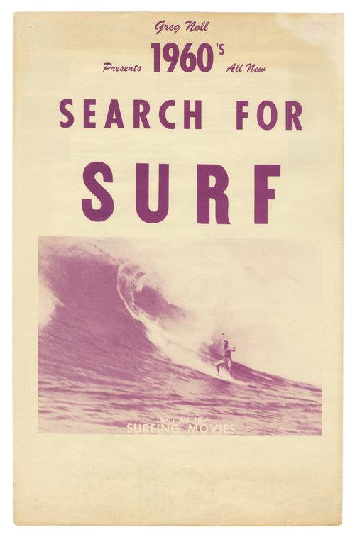 VINTAGE SURF POSTERS AND EPHEMERA