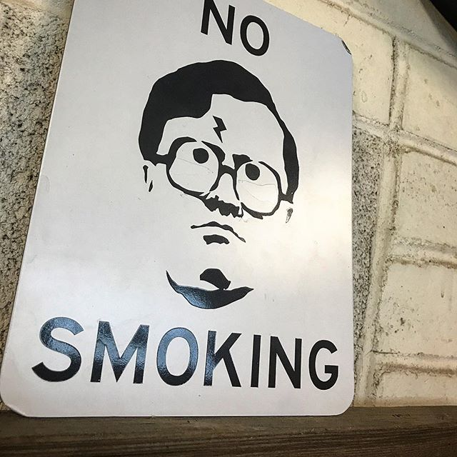 One of my favorite signs laying around the shop. Inspired by @lemieux_w  #trailerparkboys #bubbles