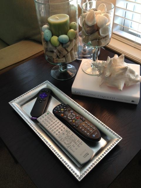 Remote Tray