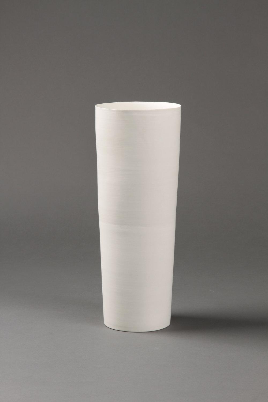 Flower vase   Clay 33.5 x 13 x 13 cm 2010