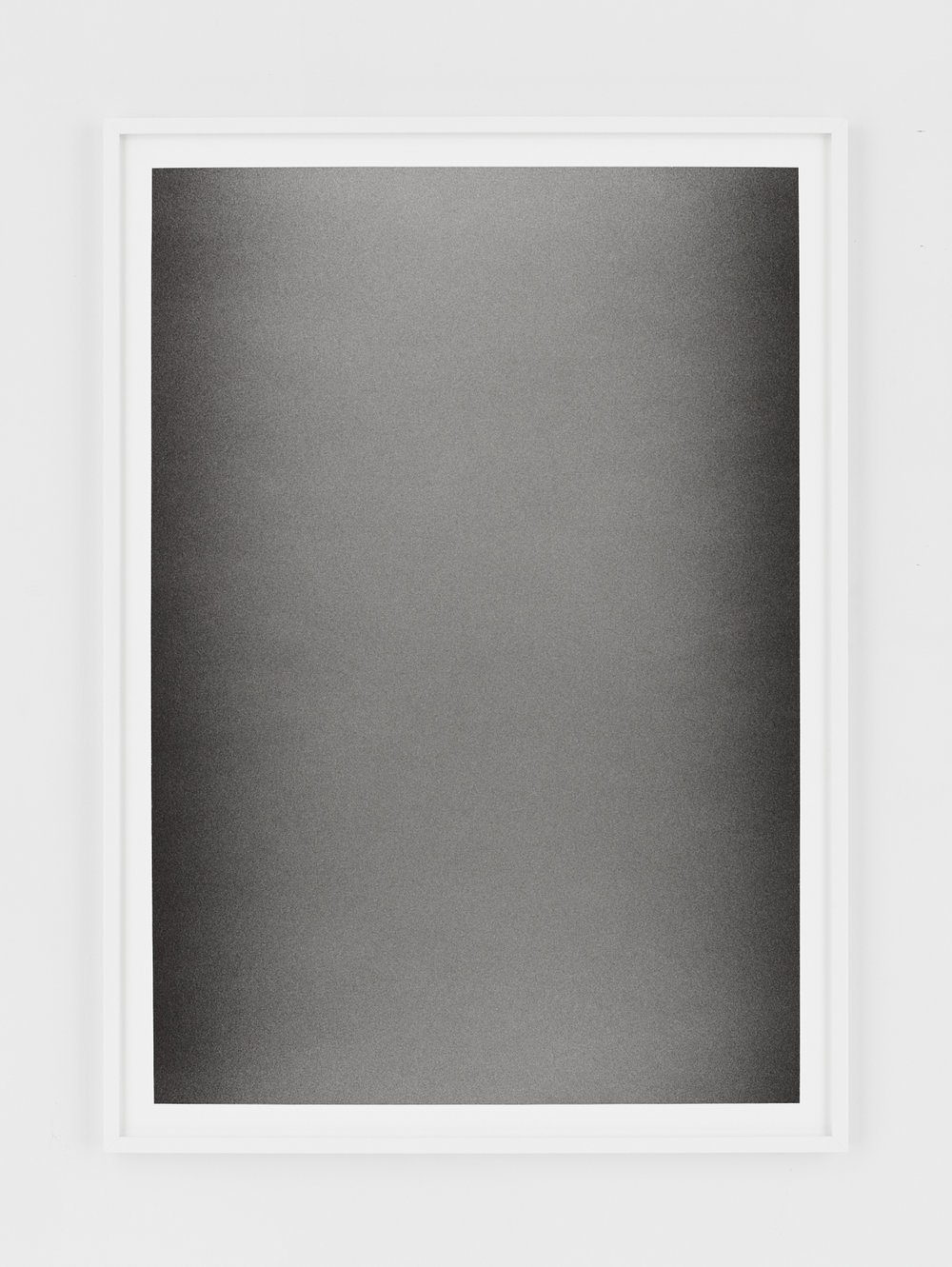 Liminal XV    Terre de Cassel on paper 50x70 cm 2017