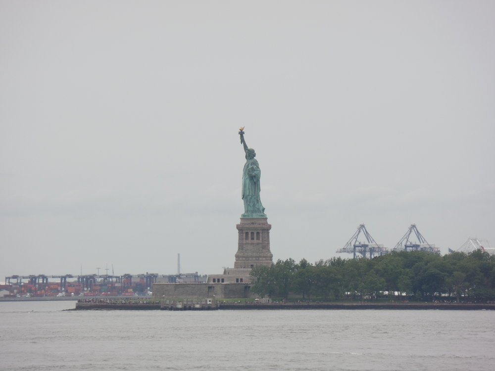 The obligatory Statue of Liberty picture. I've seen tons of photos, but it really is amazing to see it in person.