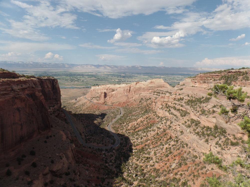 The Colorado Monument, courtesy of Zach.