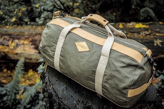 As cyber Monday graces us with its presence, we here at #cabinco want to remind you that our Cabin duffle is available in limited quantities on our website. Link in bio 🌲🎁