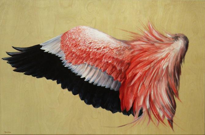 Flamingo Wing