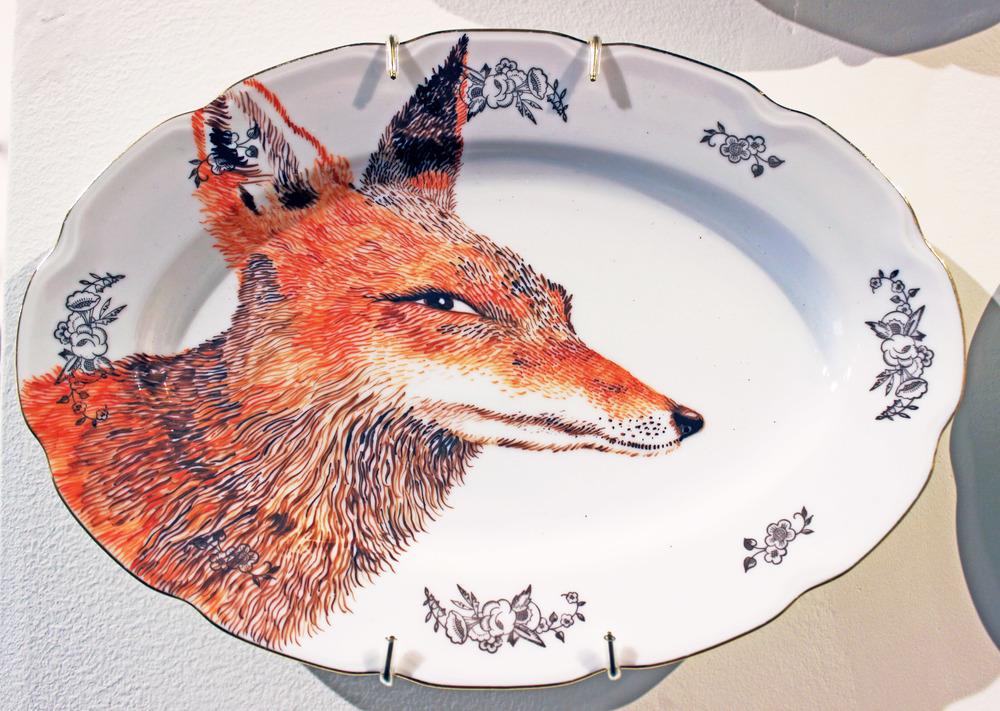 Fox Platter I