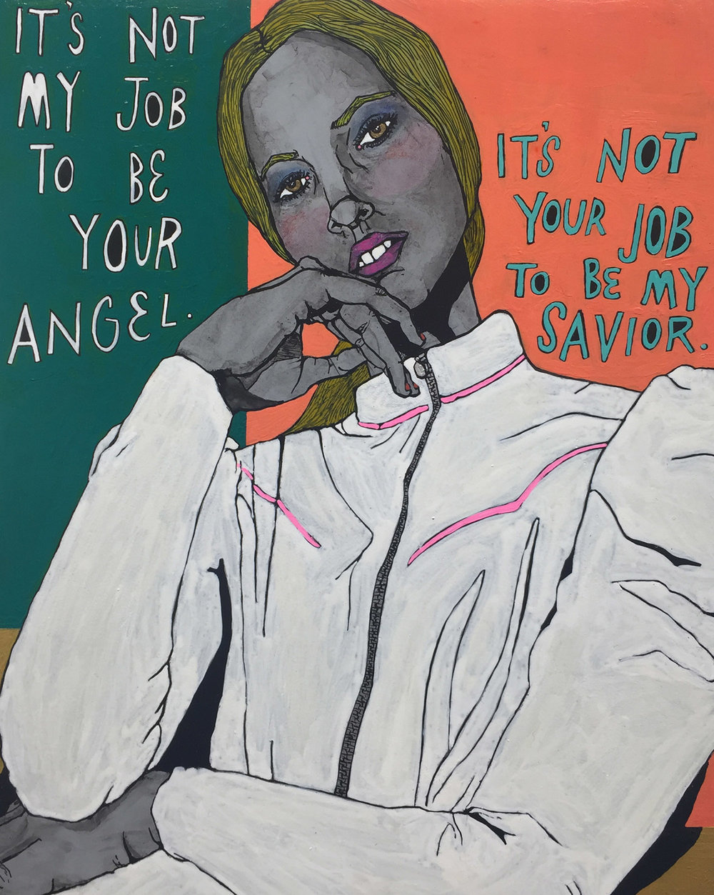 It's not my job to be your angel. It's not your job to be my savior..jpg