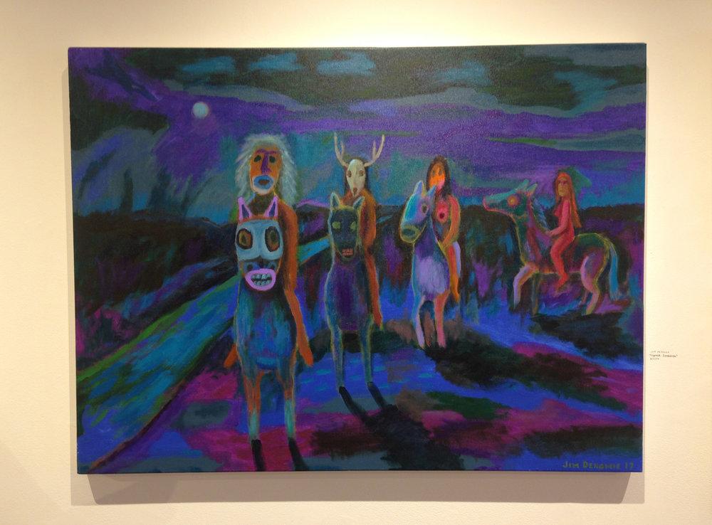 """Spiritual Landscape"", Original price $3000"