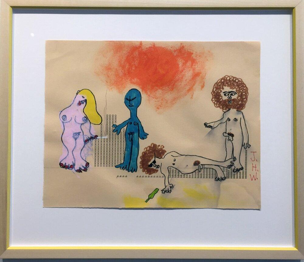 "Hall-Barnett Gallery_James Heraclitus Wall_""Untitled""_ 18%22x15%22_mixed media_2017_$600 copy.jpg"