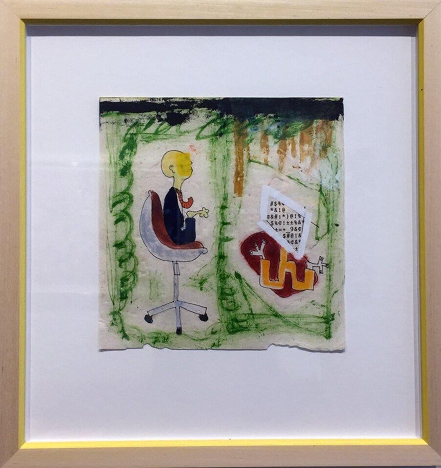 "Hall-Barnett Gallery_James Heraclitus Wall_""Untitled""_ 11.25%22x11.75%22_mixed media_2017_$450 copy.jpg"