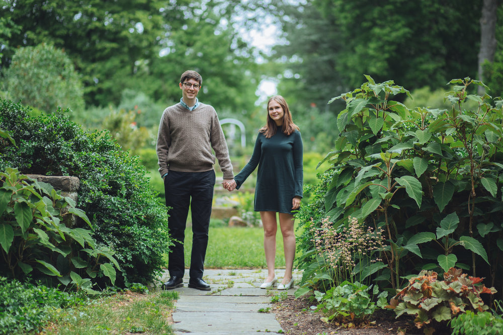 engagement photography barnes arboretum