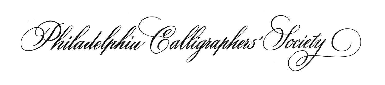 Philadelphia Calligraphers 39 Society