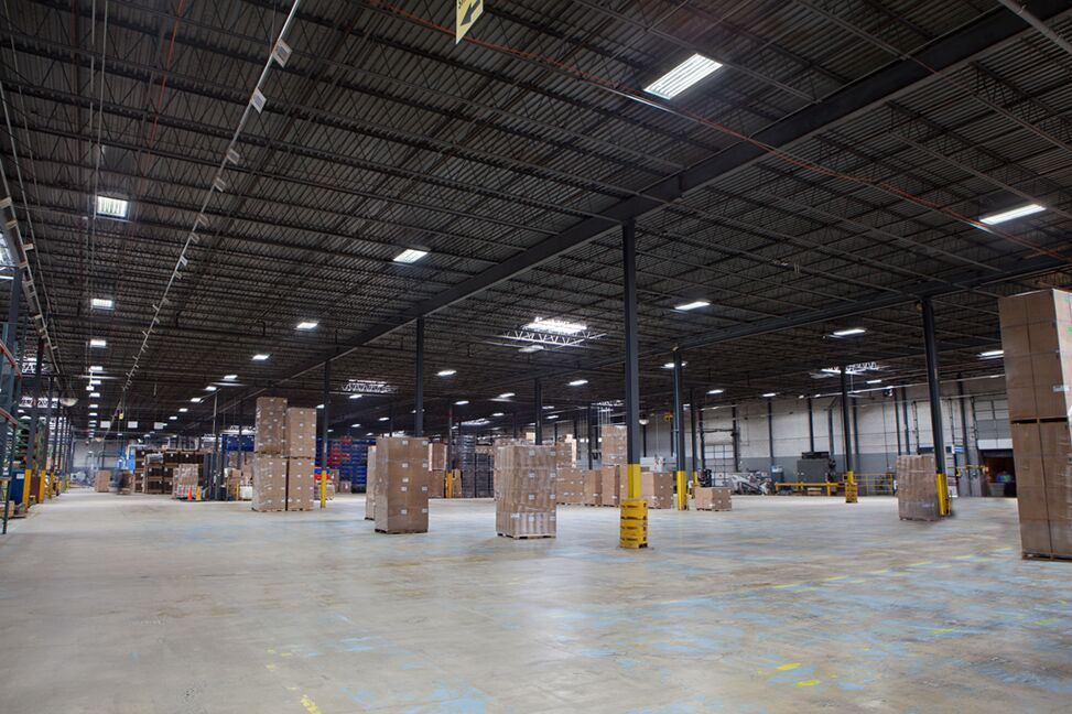 Featured Photo - Our latest LED installation at a local manufacturing warehouse in New Jersey.