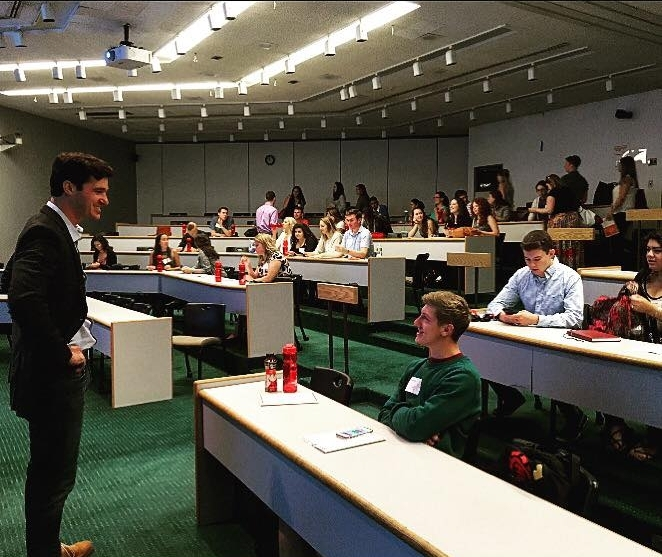 Thank you Fairfield University for having me speak to your student leaders. Q&A left me feeling hopeful in our next generation in leadership.