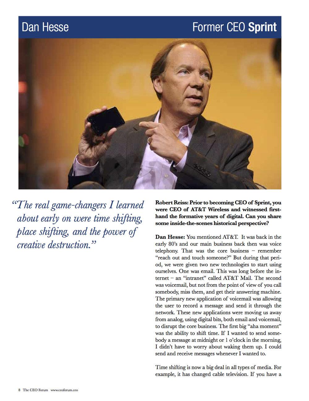 Dan Hesse - CEO Magazine April 2017